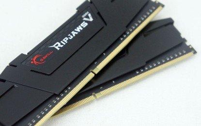 G.Skill 16 GB DDR4-3600 Kit, F4-3600C16D-16GVK