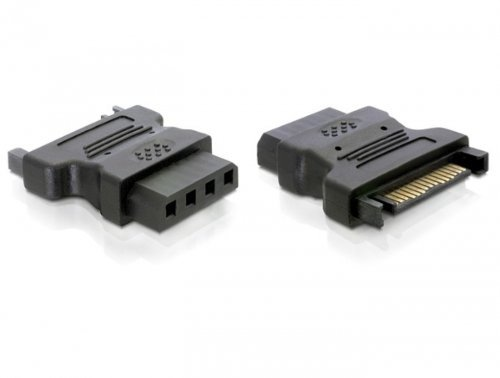 Delock Adapter Power Sata > 4Pin