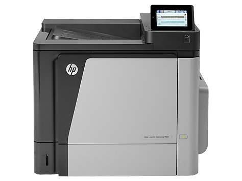 HP Color LaserJet Enterprise M651dn - Kolorowa - USB - LAN