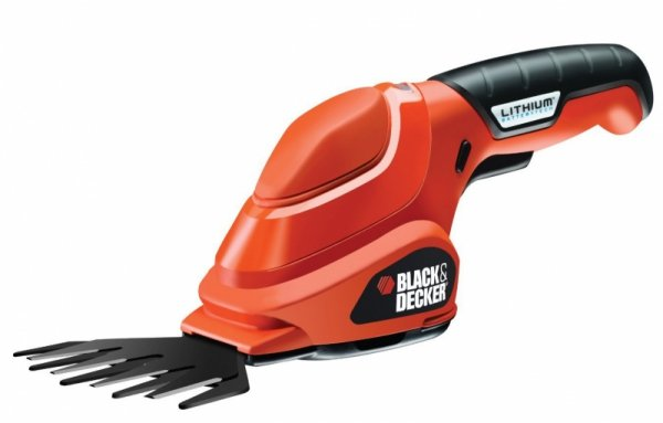 Black&Decker Akumulatorowe nożyce do trawy GSL200 3,6V orange