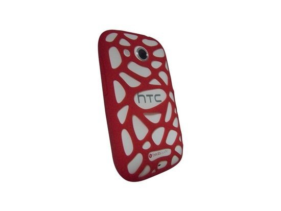 Etui HTC SC S 780 Silikonowe do HTC Desire C czerwone