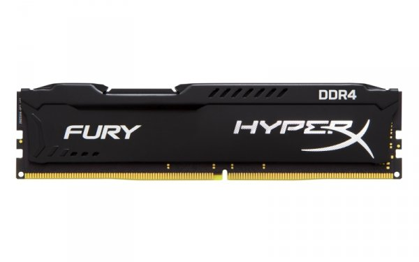 Kingston HyperX 16 GB DDR4-2400, czarny, HX424C15FB/16, Fury Black
