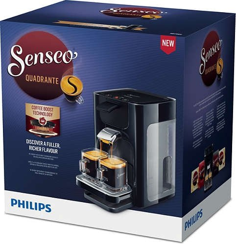 Philips Senseo HD7865/60 Quadrante czarny ekspres ciśnieniowy