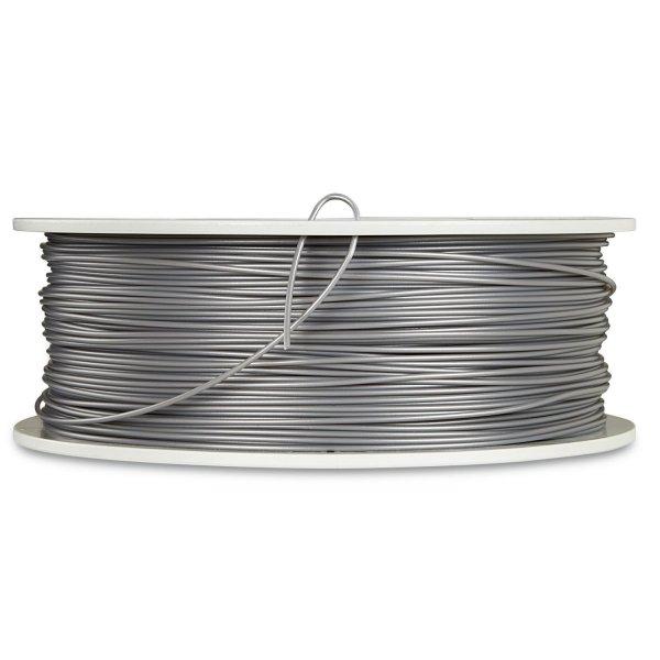 Verbatim 3D Printer Filament PLA 1,75 mm 1 kg silver/metal grey