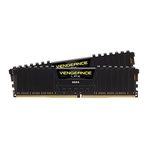 Corsair  32GB DDR4-3000 Kit, czarny, CMK32GX4M2B3000C15, Vengeance LPX