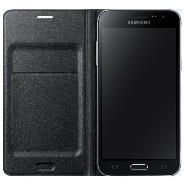 Samsung Flip Wallet dla Galaxy J1 2016 black