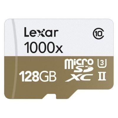 Lexar microSDHC 1000x      128GB UHS-II mit USB 3.0 Reader