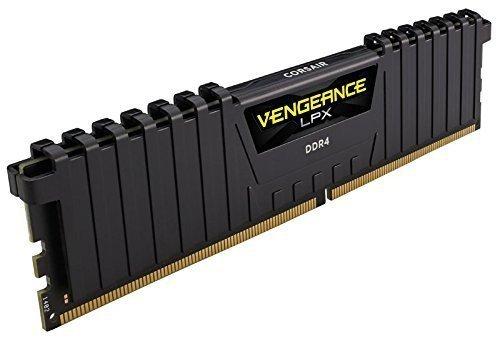 Corsair  32GB DDR4-2400 Kit, czarny, CMK32GX4M2A2400C14, Vengeance