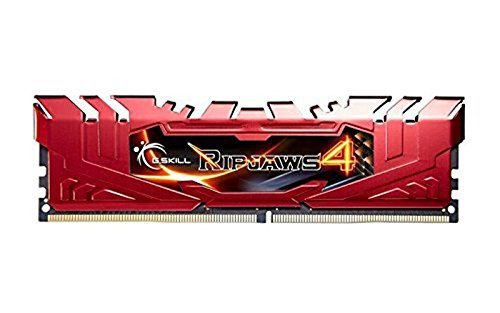 G.Skill 16GB DDR4-2800 Kit, czerwony F4-2800C16D-16GRR, Ripjaws 4