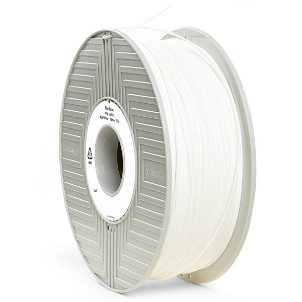 Verbatim 3D Printer Filament ABS 1,75 mm 1 kg white