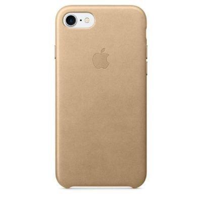 Apple iPhone 7 Leather Case Tan
