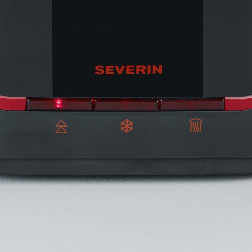 Severin AT 2292 - toster - czarno czerwony