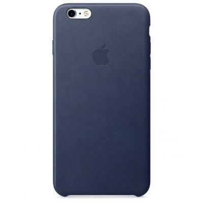 Apple iPhone 6s Plus Leather Cas Midnight Blue