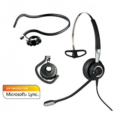 Jabra BIZ 2400 II Mono 3in1, 446 czarny, Bedienelement, MS Lync/Skype