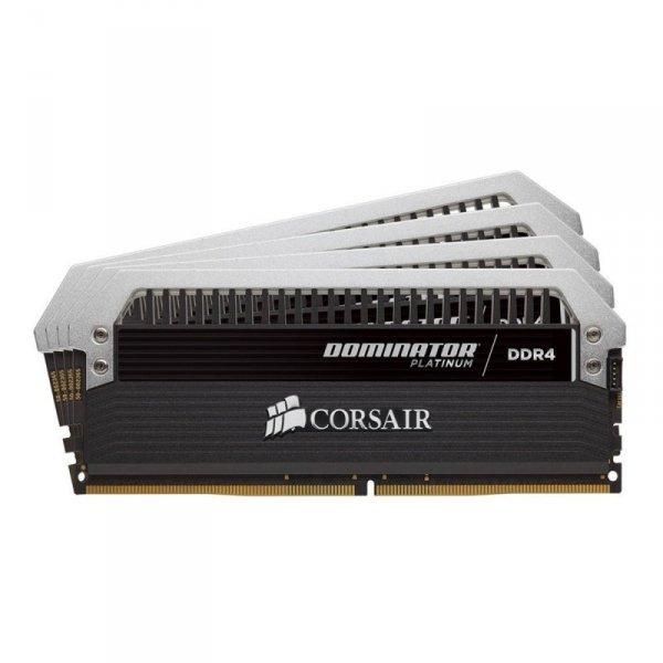 Corsair  64GB DDR4-2400 Quad-Kit, CMD64GX4M4A2400C14, Dominator Platinum