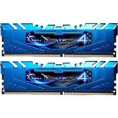 G.Skill 16GB DDR4-3000 Kit, niebieski F4-3000C15D-16GRBB, Ripjaws 4