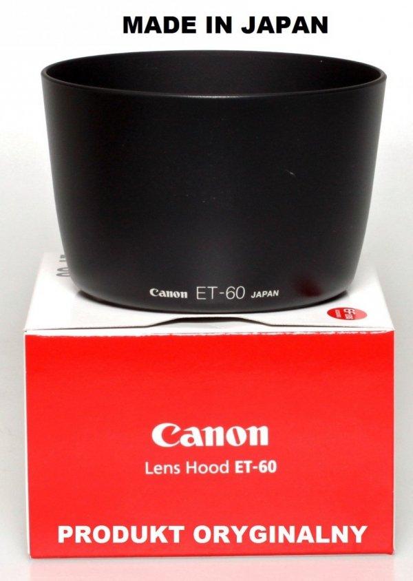 Canon osłona przeciwsłoneczna ET-60