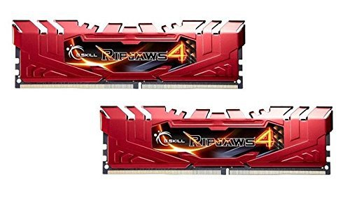 G.Skill DDR4 8GB 2400-15 Ripjaws 4 Red