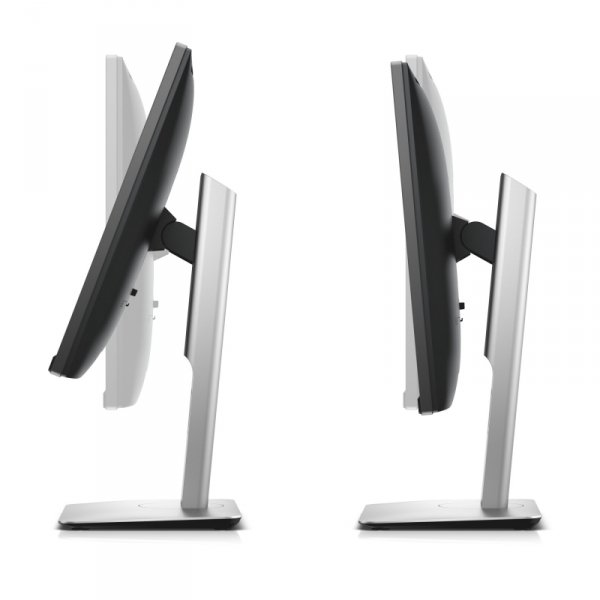 Dell UltraSharp U2417H, srebrny/czarny, HDMI, DisplayPort, USB 3.0-Hub, Pivot