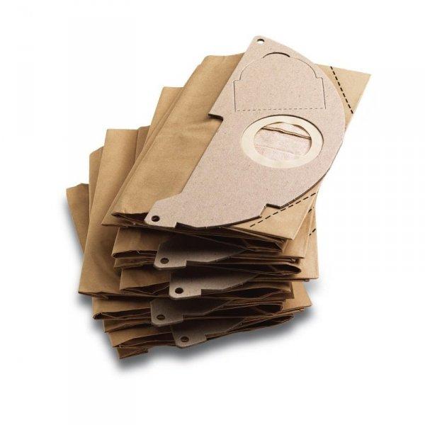 Karcher Papierowa torba filtracyjna do próźniowej - 5 sztuk