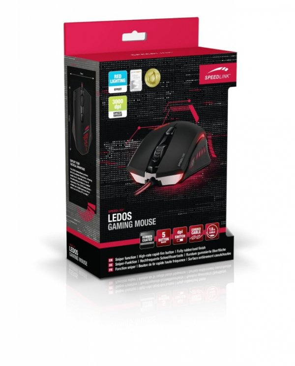 Speedlink LEDOS Gaming Mouse - 3000 DPI