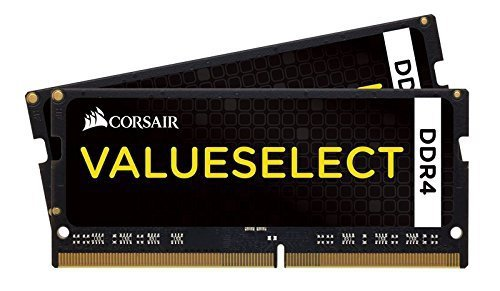 Corsair SO-DIMM 32 GB DDR4-2133 Kit, CMSO32GX4M2A2133C15, Value Select