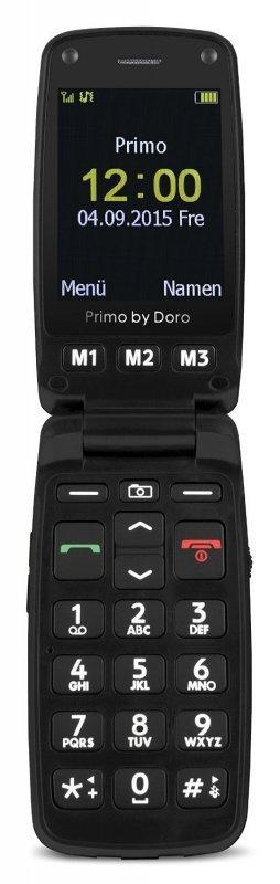 Doro Primo 406, czarny