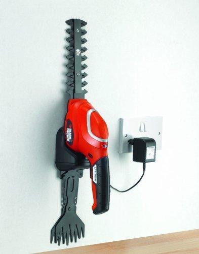 Black&Decker Akumulatorowe nożyce do krzewów GSL700 7V orange