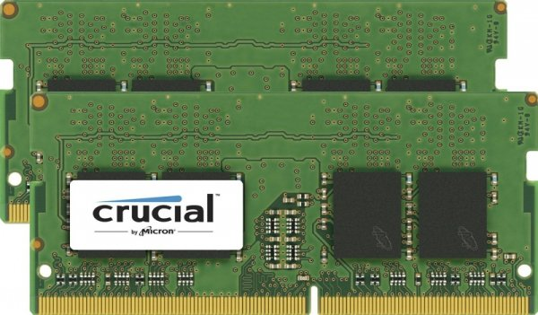 Crucial SO-DIMM 16GB DDR4-2400 Kit, CT2K8G4SFS824A