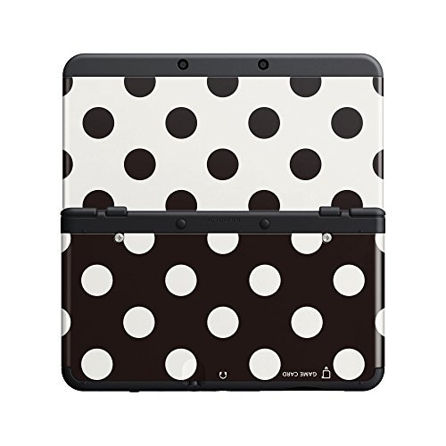 Nintendo New 3DS Cover Plate 015 Points black/white