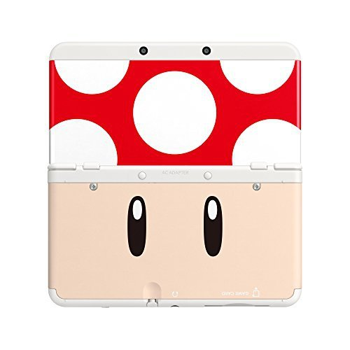 Nintendo New 3DS Cover 007 Toad red