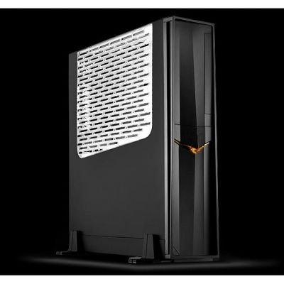 SilverStone SST-RVZ02B-W Window, Desktop czarny, Windows-Kit