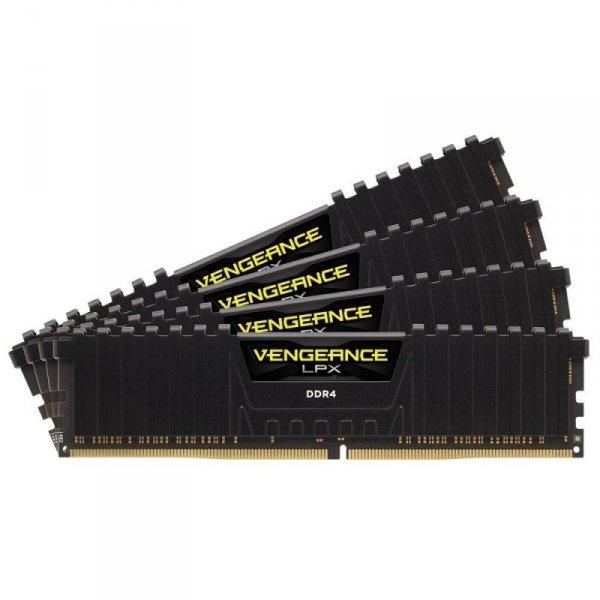 Corsair  32GB DDR4-3200 Quad-Kit, CMK32GX4M4B3200C16, Vengeance LPX