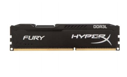 Kingston HyperX 16GB DDR3L-1866 Kit, HX318LC11FBK2/16, Fury Black