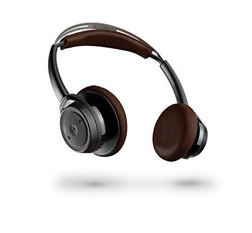 Plantronics BackBeat Sense Bluetooth Headset czarny-brązowy