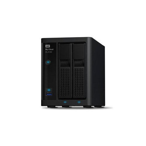 WD 4TB My Cloud DL2100 2xGL/2xU3, NAS czarny