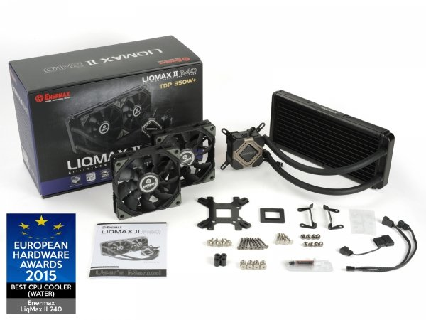 Enermax Liqmax II 240 - zestaw chłodzenia wodnego