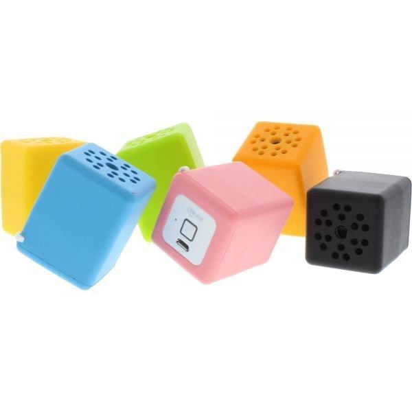 InLine® Bobby Mini głośnik Bluetooth z funkcją głośnomówiącą do telefonu (pomarańczowy)