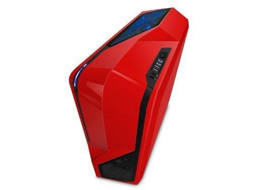 NZXT Phantom 410 czerwony, Tower czerwony, Window-Kit