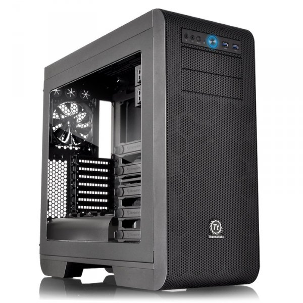 Thermaltake Core V51 Power Cover Edition, Tower czarny, Window-Kit
