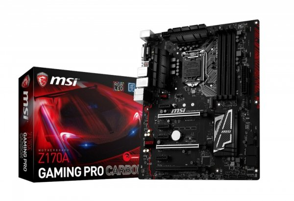 MSI Z170A GAMING PRO Carbon Z170