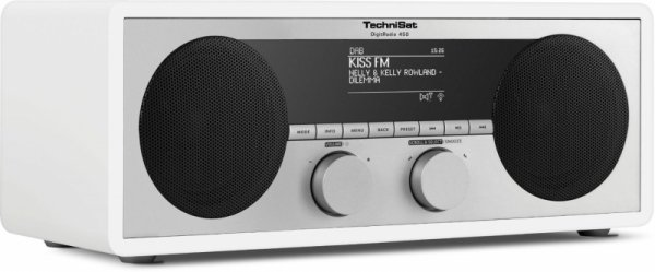 TechniSat DigitRadio 450 - biały - WiFi - Bluetooth