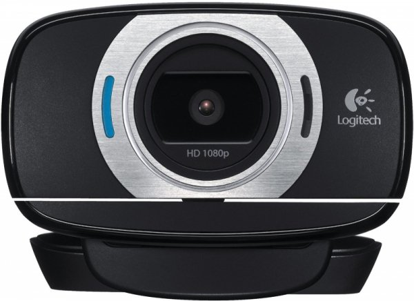 Logitech HD Webcam C615 czarny