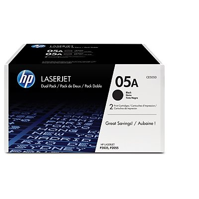 Toner HP LJP2035/2055 black       CE505D    2300 str.