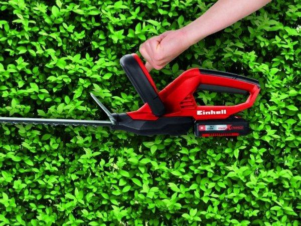 Einhell Akumulatorowe nożyce do żywopłotu GE-CH 1846 Li red