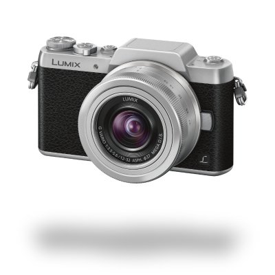 Panasonic Lumix DMC-GF7 Kit black/silver + H-FS 12-32 mm