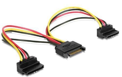 Delock SATA 15p->2xSATA 15p HDD 90 stopni - St-Bu Power SATA