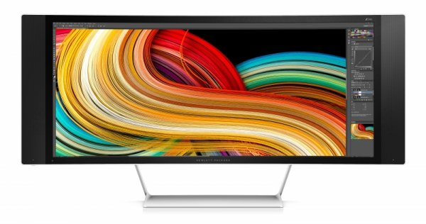 Hewlett-Packard Z34c, czarny/srebrny, HDMI (MHL),DisplayPort, Lautsprecher