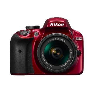 Nikon D3400 Kit red + AF-P 18-55 VR