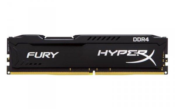 Kingston HyperX 16 GB DDR4-2400, czarny, HX424C15FB/16, Fury Black